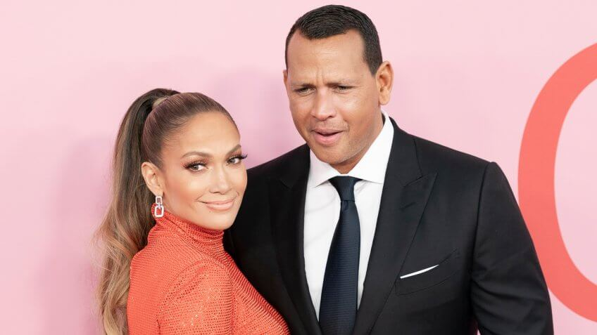 Jennifer Lopez Alex Rodriguez net worth