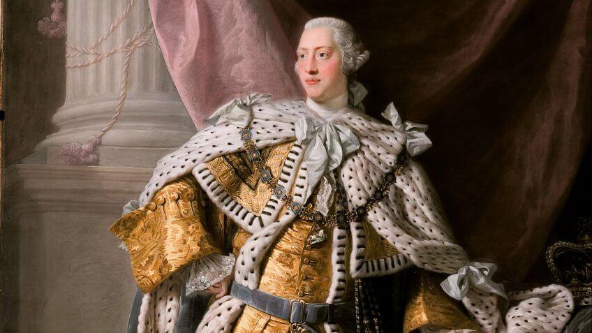 King George III painting by Allan Ramsay
