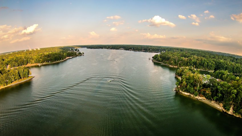 Lake Wylie in South Carolina
