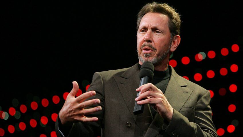Larry Ellison CEO Oracle net worth