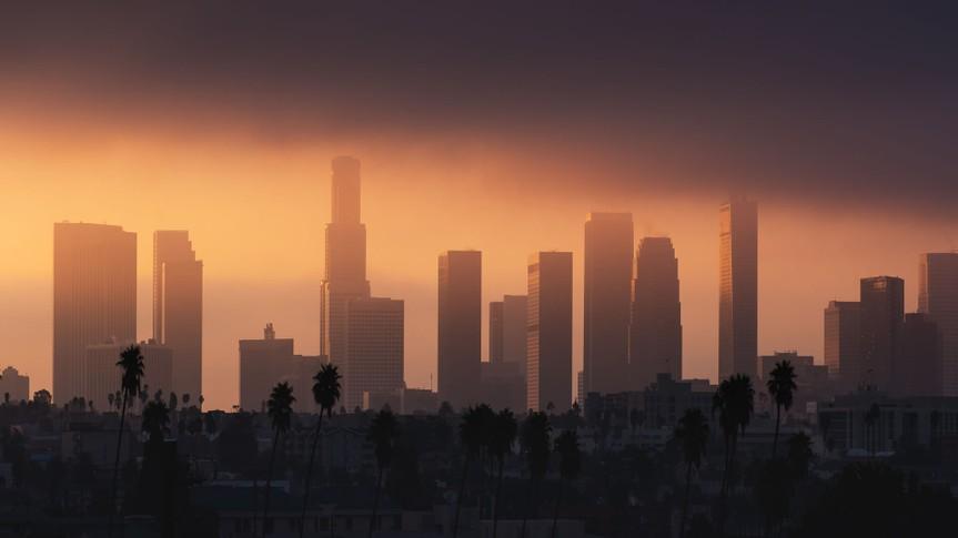 Los Angeles California pollution