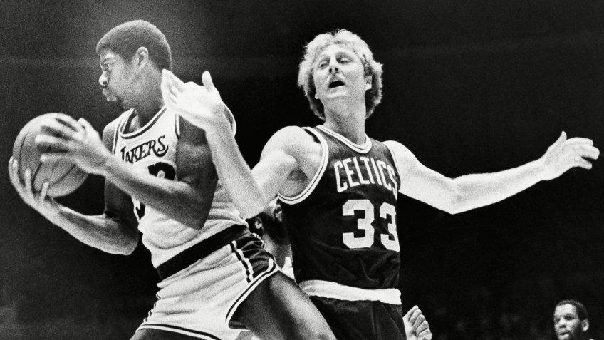 Los Angeles Lakers vs Boston Celtics basketball sports rivalry