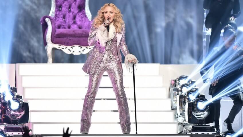 Madonna musician performing net worth
