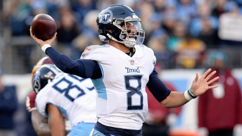 Marcus Mariota Tennessee Titans highest paid player