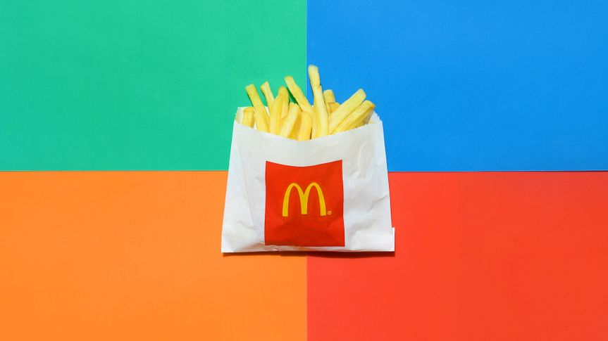 McDonald's french fries on Dollar Menu
