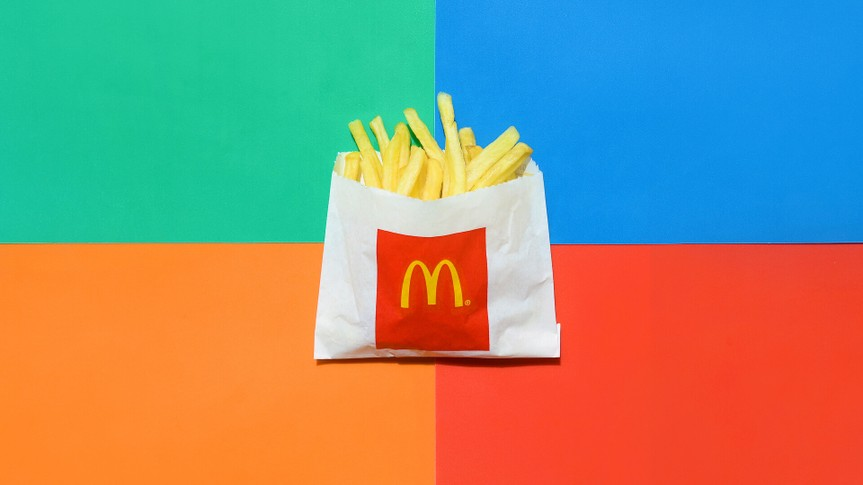 McDonald's french fries on Dollar Menu