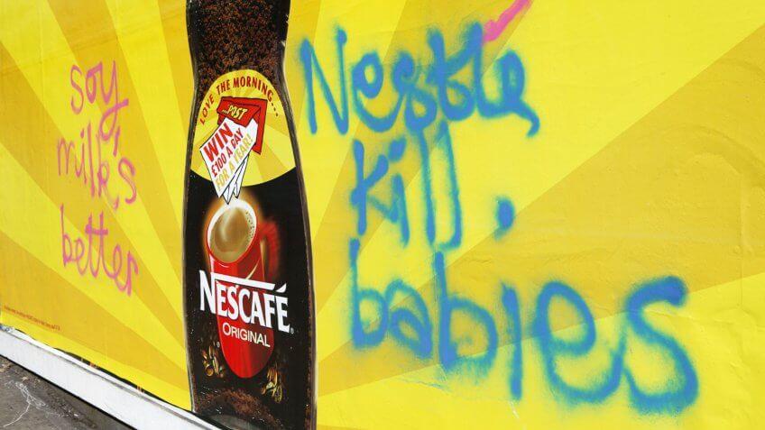 Nestle broke World Health Organization Code on marketing of breast milk substitutes