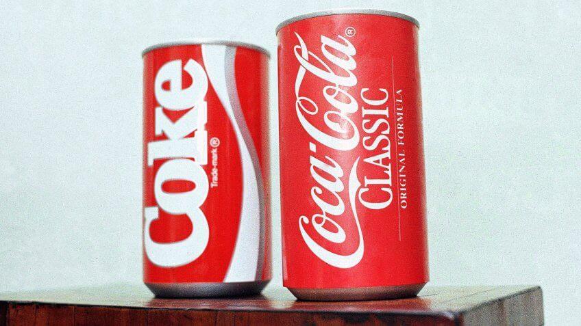 New Coke and Coca-Cola Classic