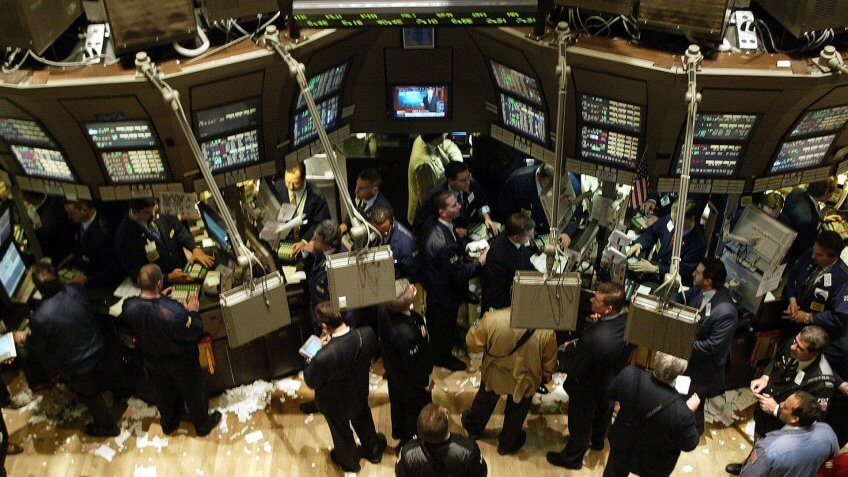 New York Stock Exchange in 2003