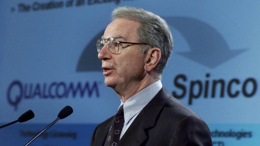 Qualcomm CEO Irwin Jacobs