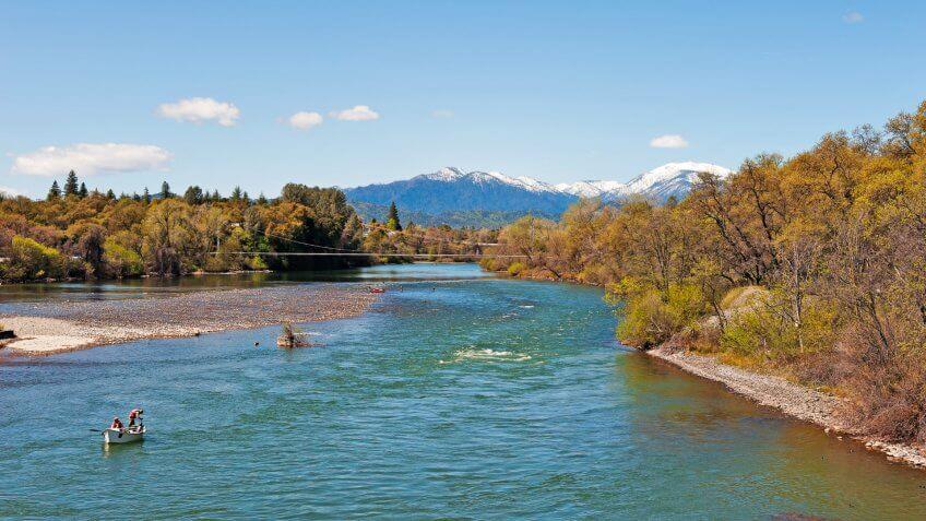 Redding California Sacramento River