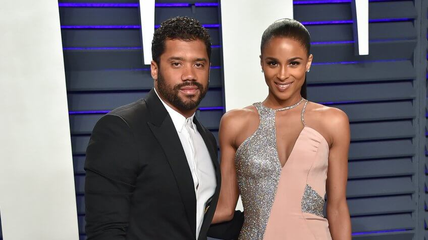 Russell Wilson Ciara net worth