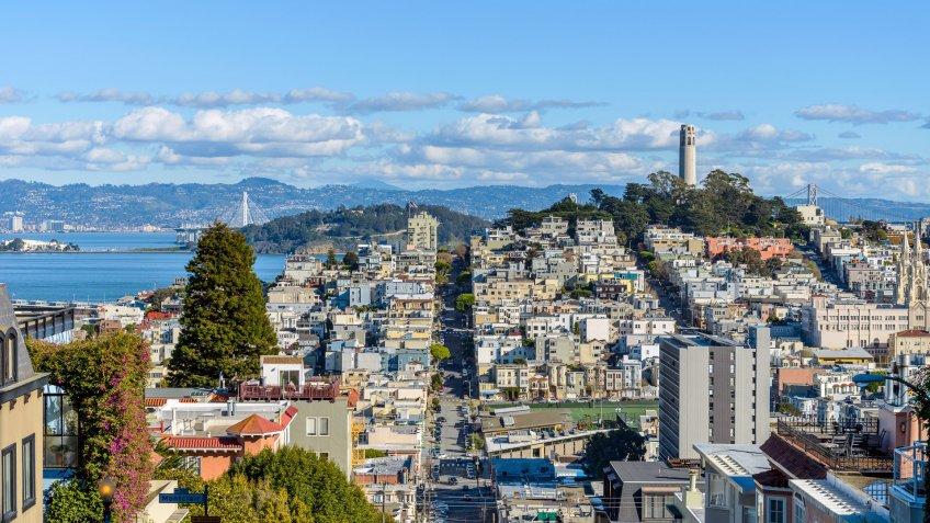 San Francisco California winter