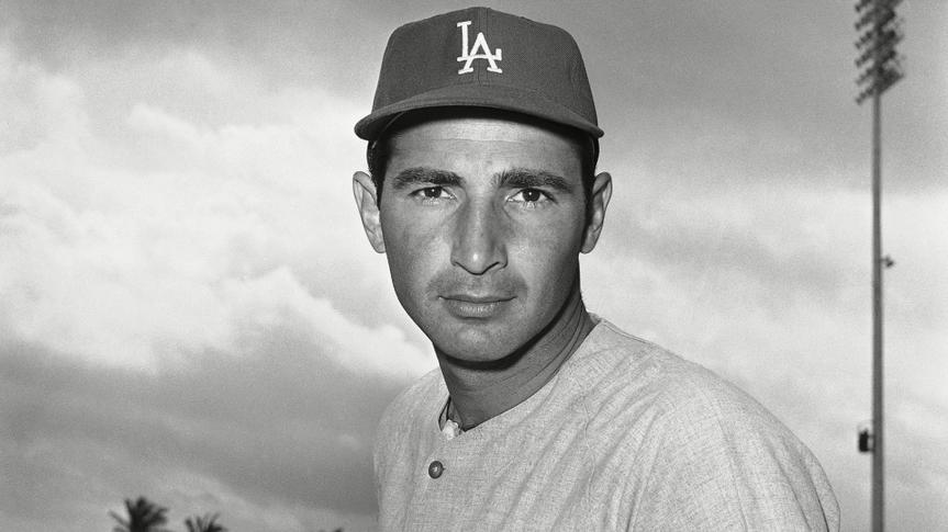 Sandy Koufax Los Angeles Dodgers pitcher