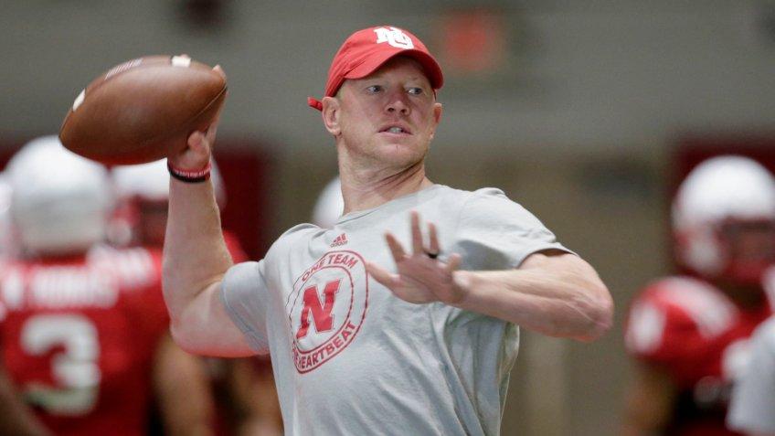 Scott Frost, football coach, University of Nebraska