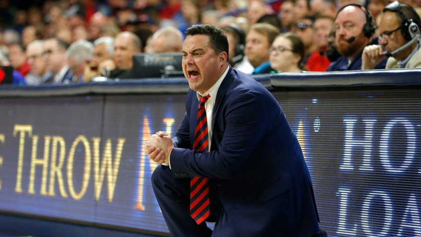 Sean Miller, basketball coach, University of Arizona