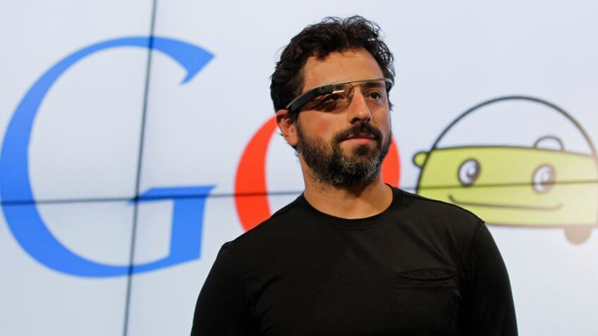 Sergey Brin Google co-founder net worth