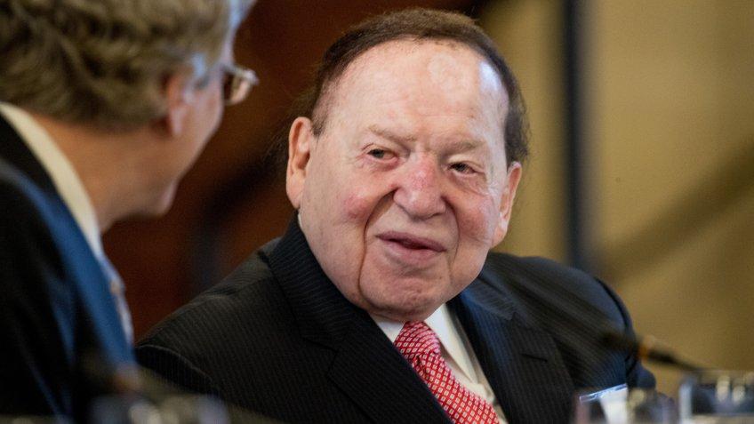 Sheldon Adelson CEO Las Vegas Sands net worth