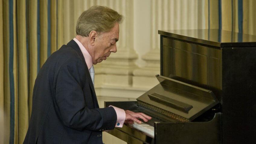 Sir Andrew Lloyd Webber musician performing net worth