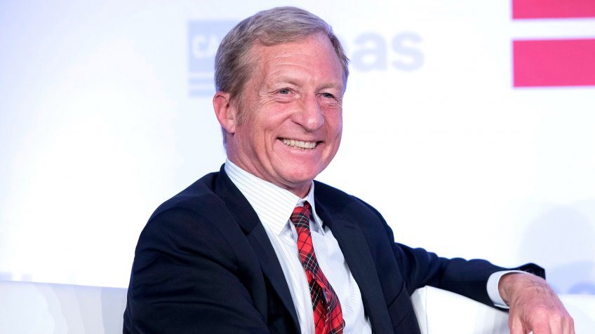 Liberal activist Tom Steyer Center for American Progress 'Ideas Conference', Washington DC, USA