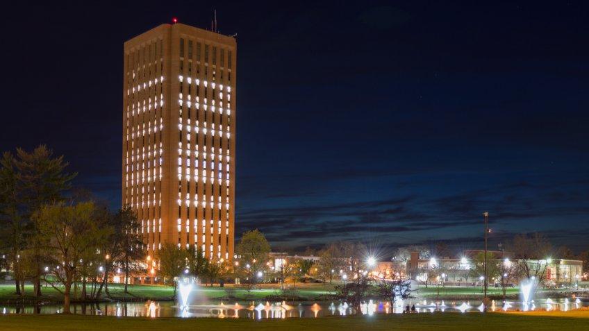 UMass Amherst Campus Panoramic - Image.