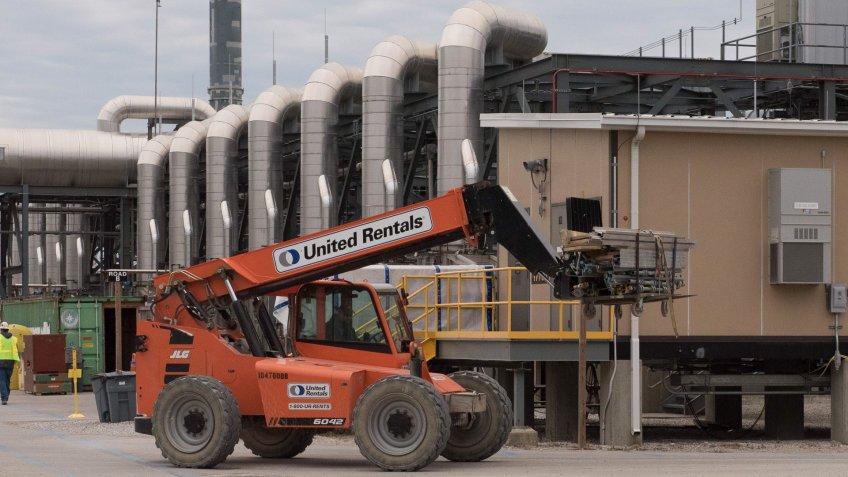 United Rentals lift