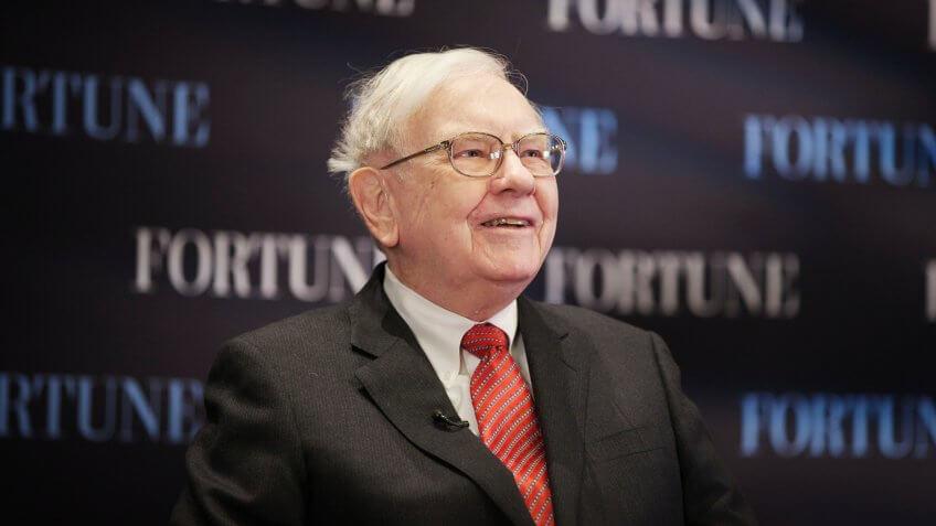 Warren Buffett Berkshire Hathaway CEO net worth