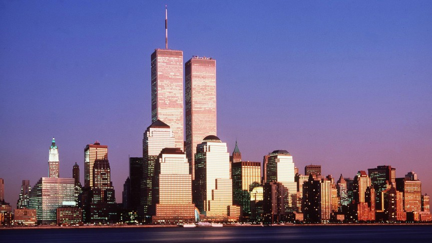 World Trade Center Towers in New York City