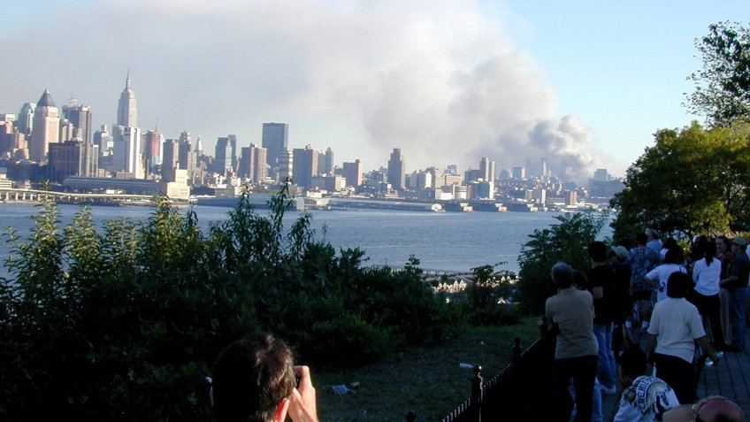 World Trade Center Towers attack in New York City on September 11th 2001