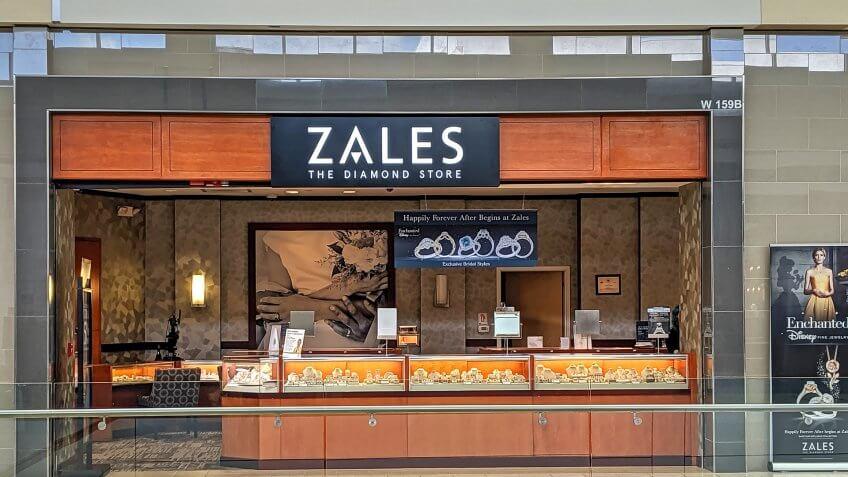 Zales jewelry by Signet Jewelers