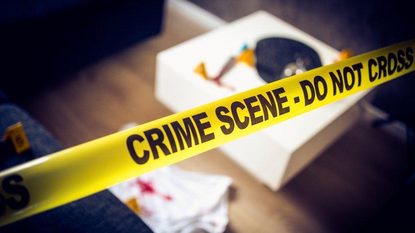 Scene of the crime.
