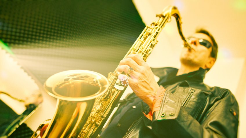 Fine Art Portrait from a Saxophone Player.