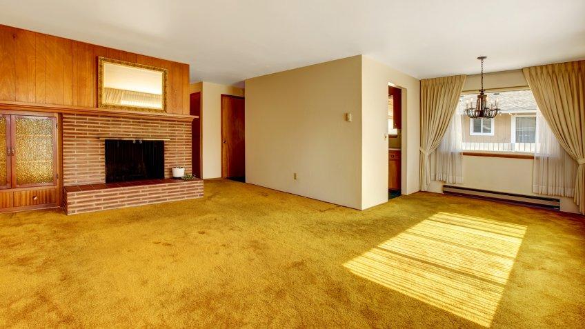 old carpeting