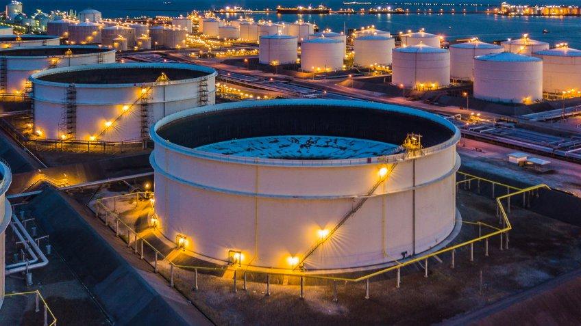 petroleum gas plant