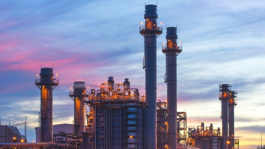 petroleum power plant