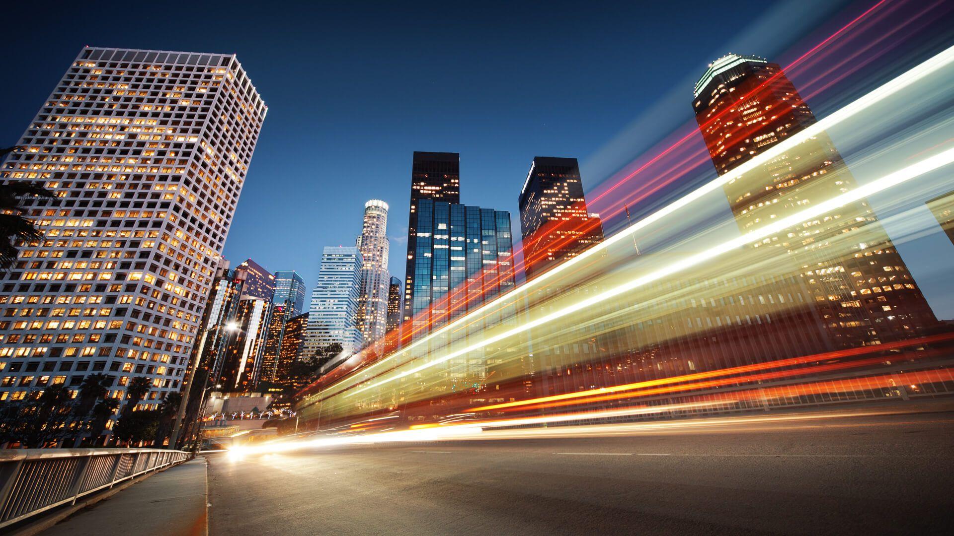 speeding in Los Angeles California