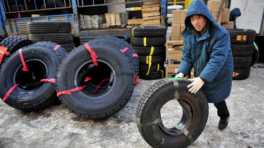 tire factory in China