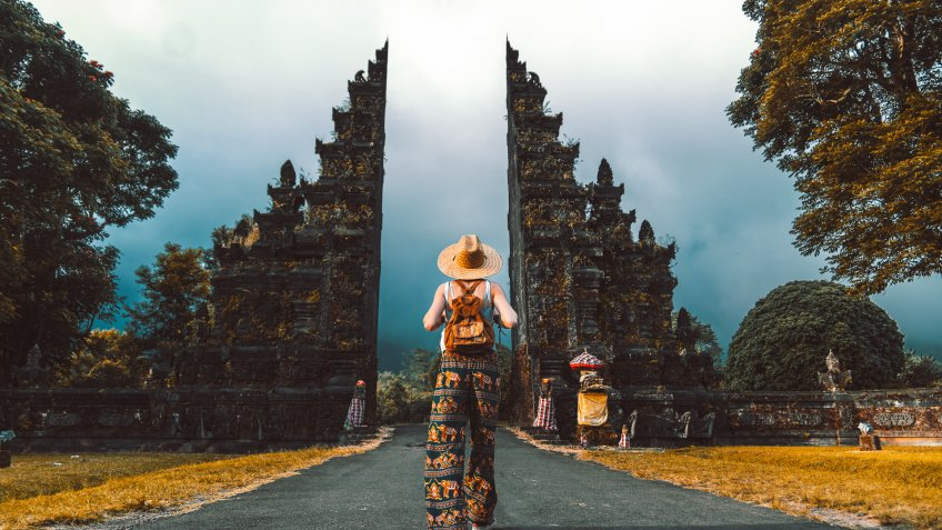 travel influencer in Indonesia