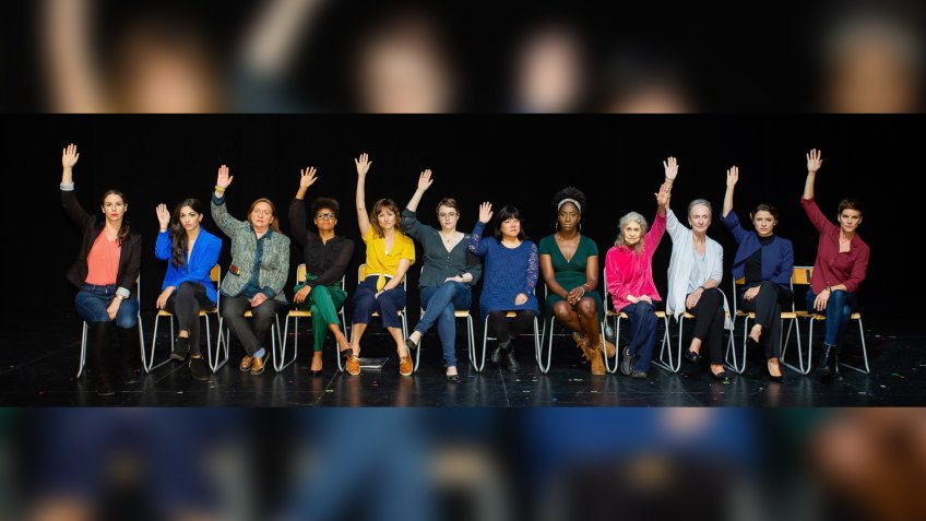 12000 Voices cast members for 12 Angry Men performed by 12 Impas