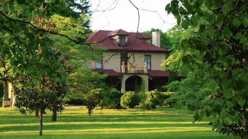 Decherd Tennessee Haynes House.