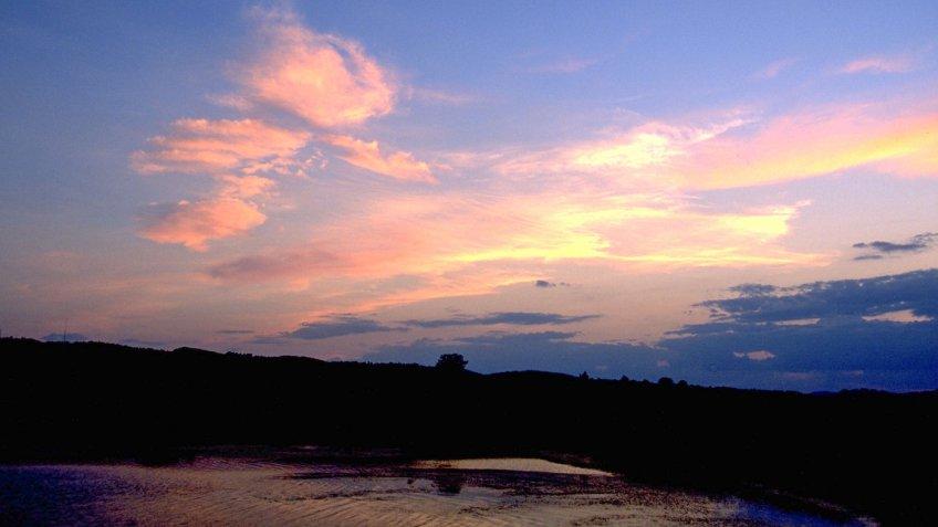 Porcupine Creek, South Dakota.