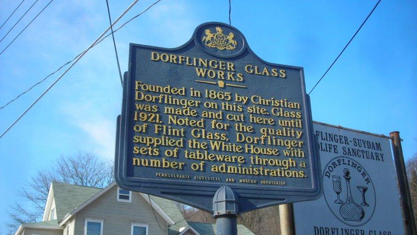 Dorflinger Glass Museum.