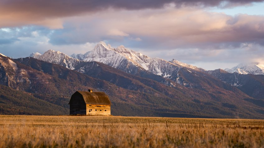 Barn in Pablo Montana - Image.
