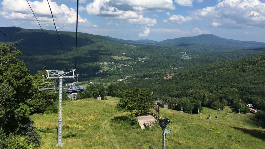 Ski at Hunter mountain New York - Image.