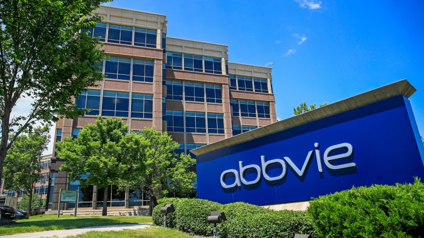Mandatory Credit: Photo by TANNEN MAURY/EPA-EFE/Shutterstock (10321302i)The office facilities of US drug manufacturer AbbVie is seen in Mettawa, Illinois, USA, 25 June 2019.