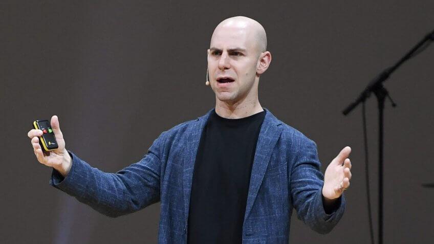 Ph.D. in organizational psychology Adam Grant