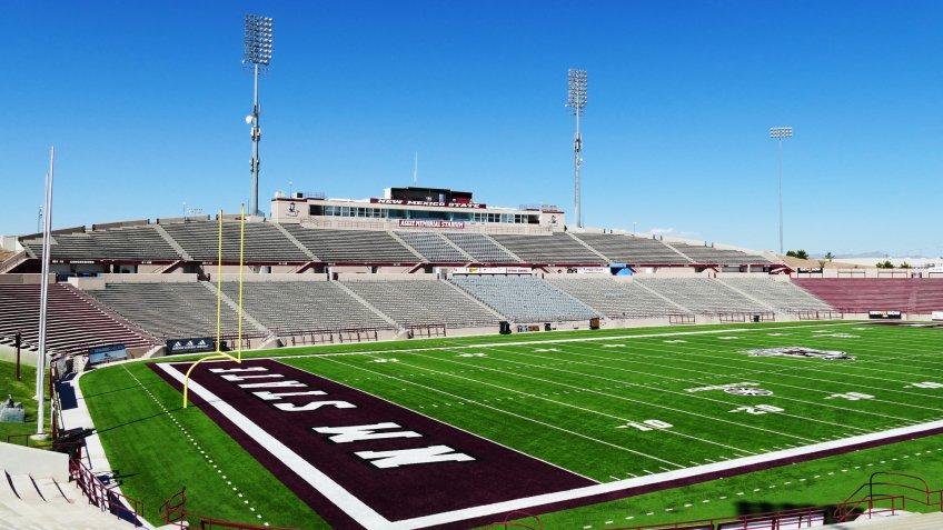 Aggie Memorial Stadium New Mexico State University.