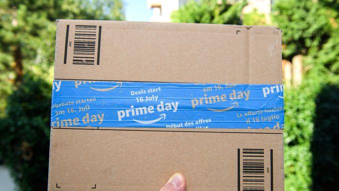 Amazon Prime Day delivery box