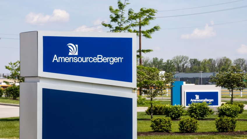 Whitestown - Circa May 2019: AmerisourceBergen Pharmaceutical Distribution Center.