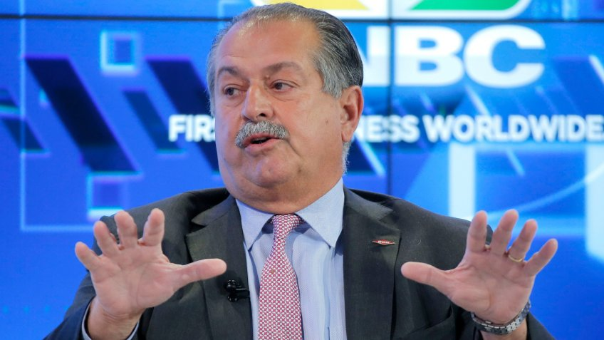CEO of The Dow Chemical Company Andrew N. Liveris